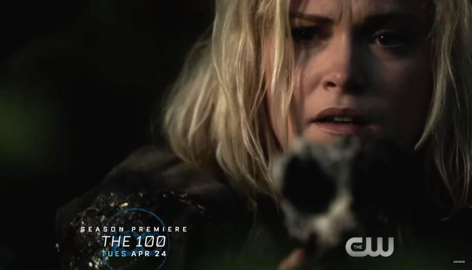the 100 temporada 5 clarke