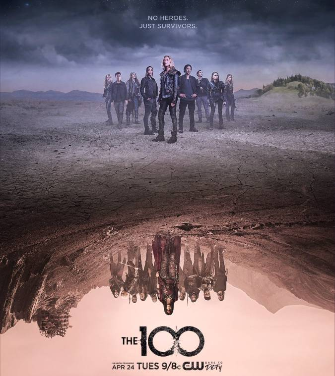 the 100 poster temporada 5
