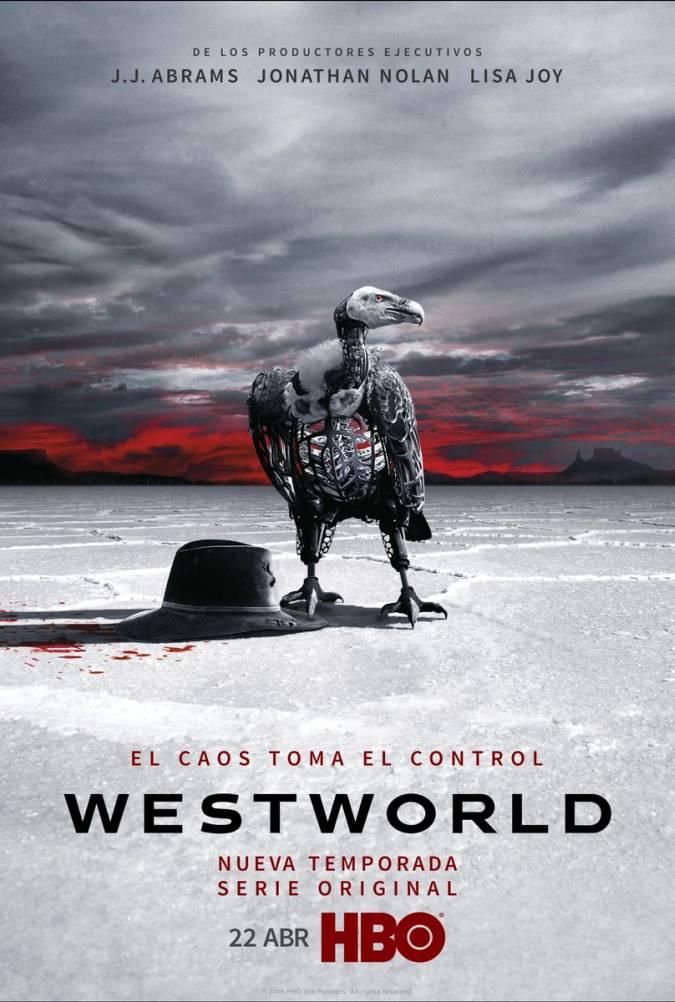 westworld temporada 2 poster buitre robot