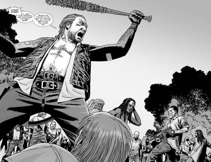 The walking dead temporada 8 comic