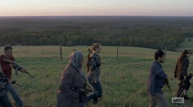 the walking dead 8x16 whisperers