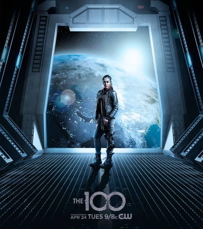 the 100 temporada 5 raven