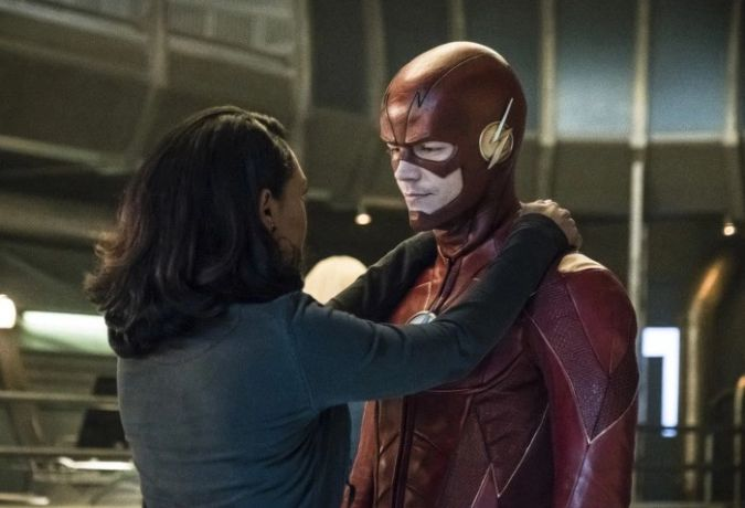 Tbe flash temporada 4 the cw iris