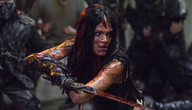 the 100 5x02 octavia red queen