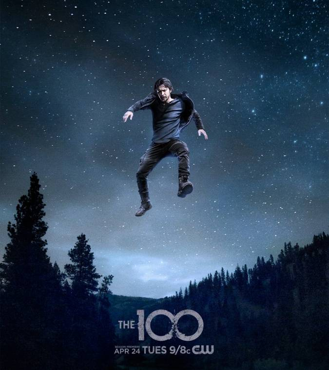 the 100 temporada 5 poster bellamy