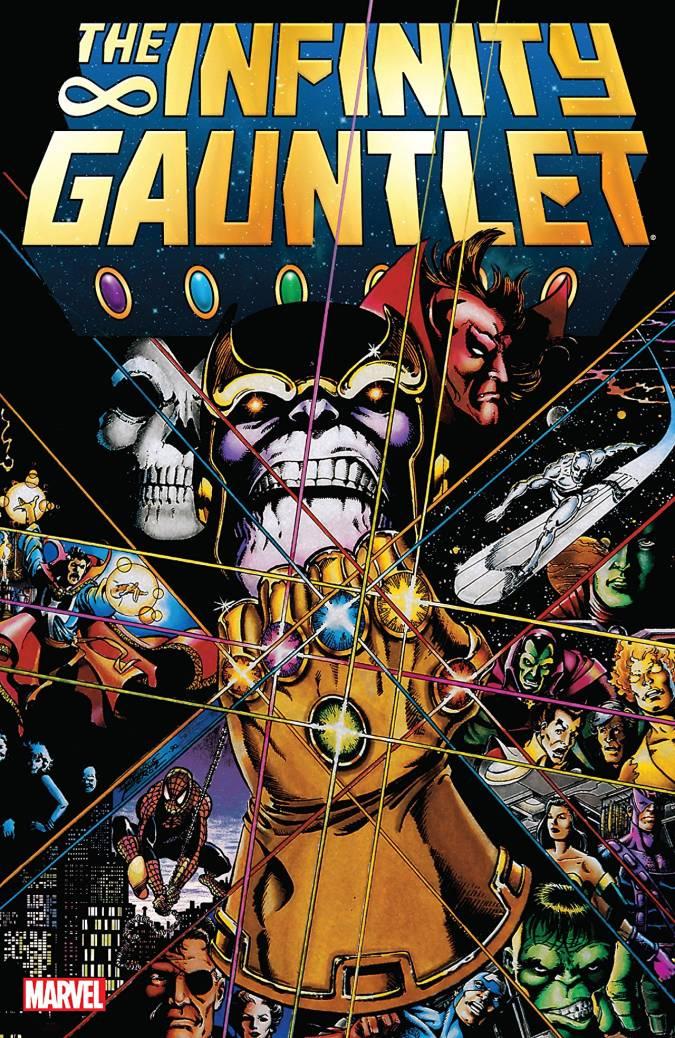 avengers infinity war comic guantelete del infinito marvel Infinity Gauntlet