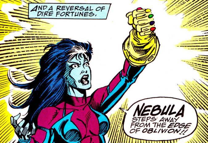 avengers infinity war nebula guantelete del infinito