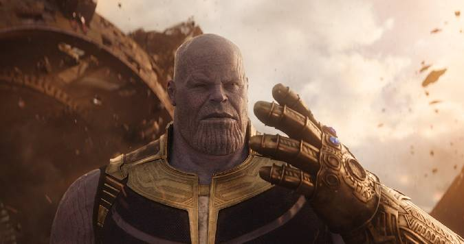 avengers infinity war thanos guantelete