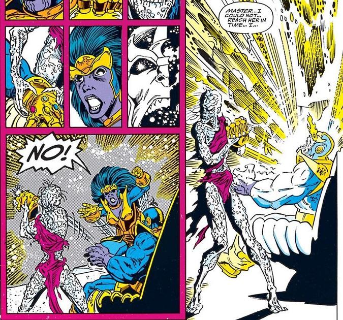 avengers infinity war comic marvel nebula