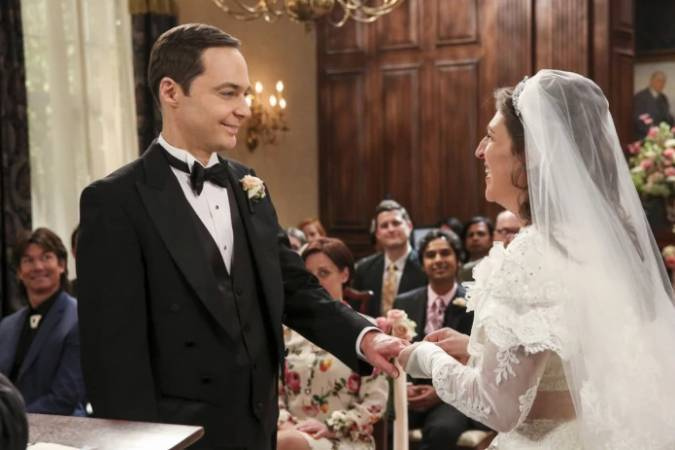 the big bang theory 11x23 sheldon amy matrimonio
