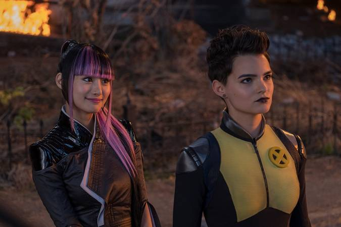 deadpool 2 yukio Negasonic Teenage Warhead