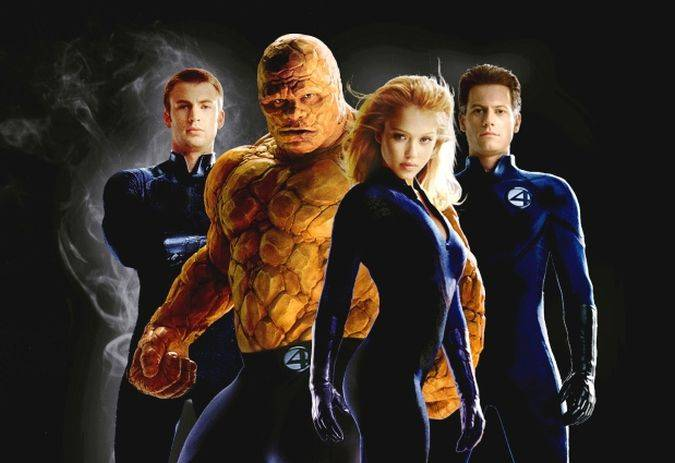 fantastic four chris evans antorcha humana