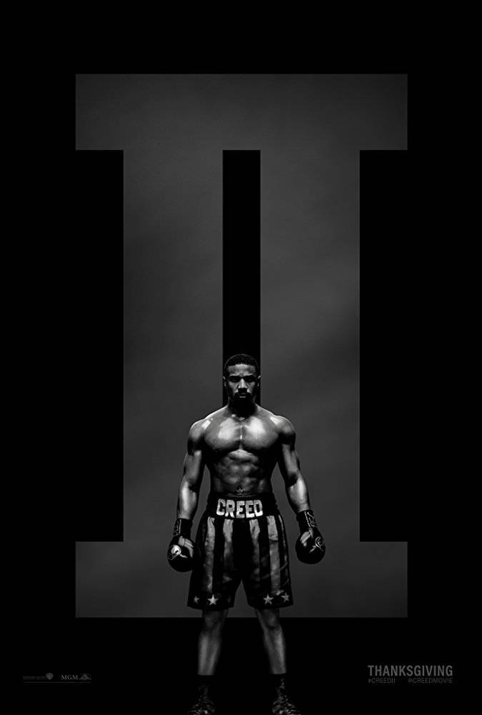 creed 2 poster adonis