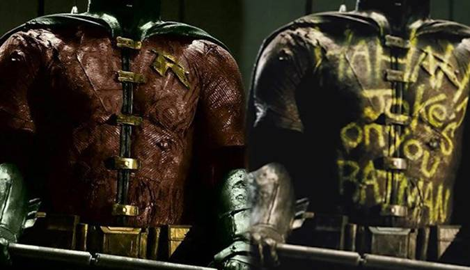 batman v superman traje de robin