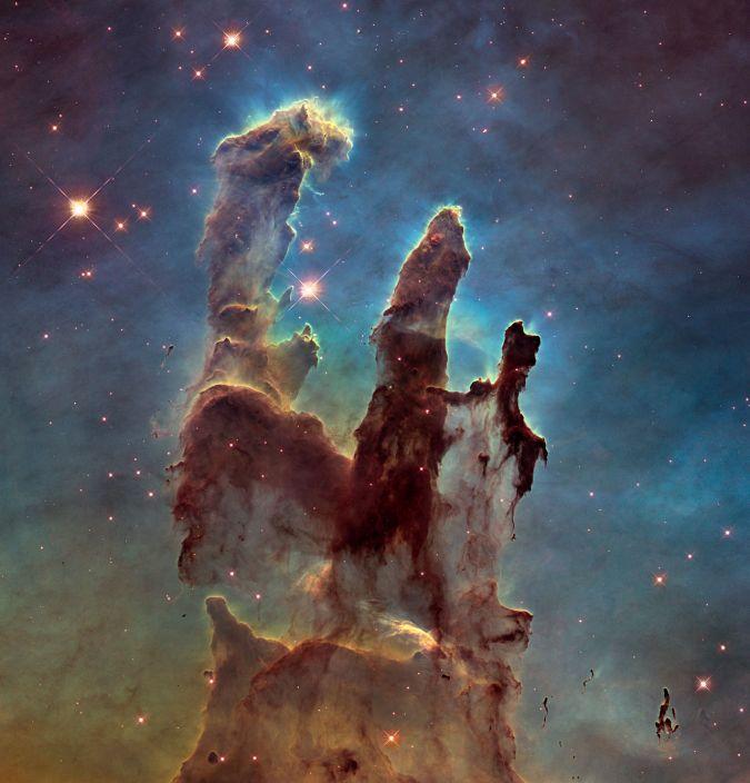 pilares de la creacion,nasa,imagenes,universo