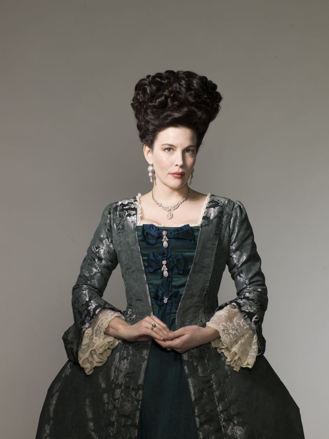 harlots temporada 2 liv tyler Lady Isabella Fitzwilliam