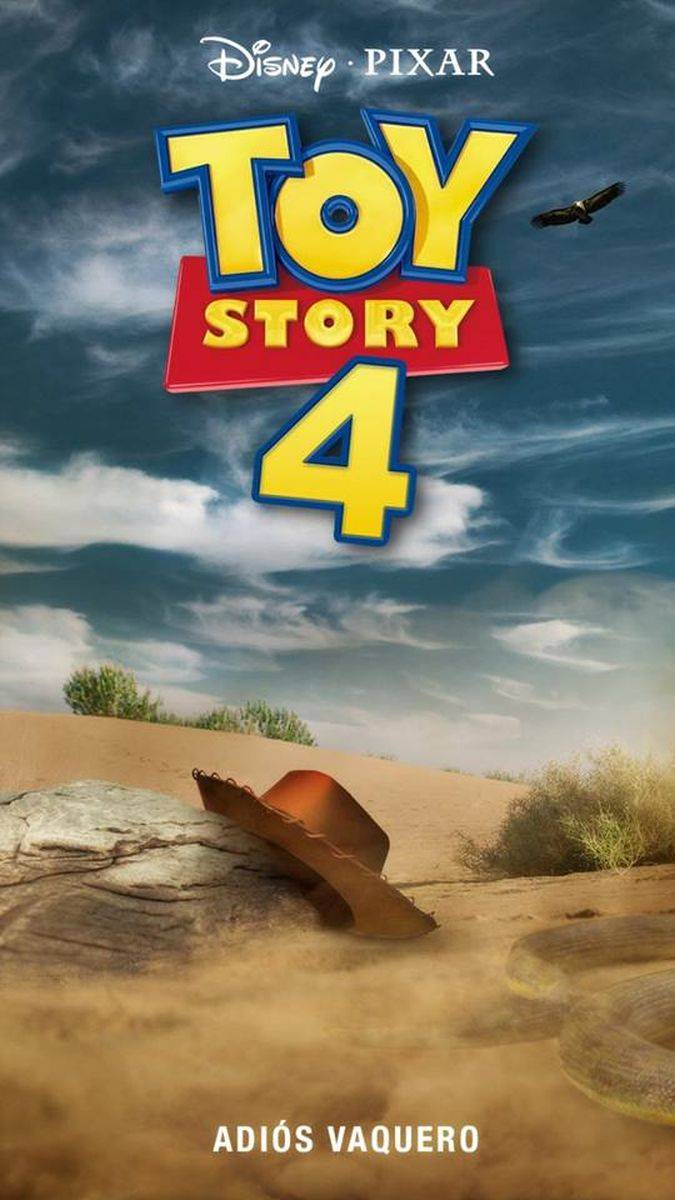 toy story 4 fan art poster