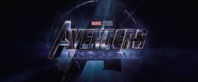 avengers 4 endgame titulo logo