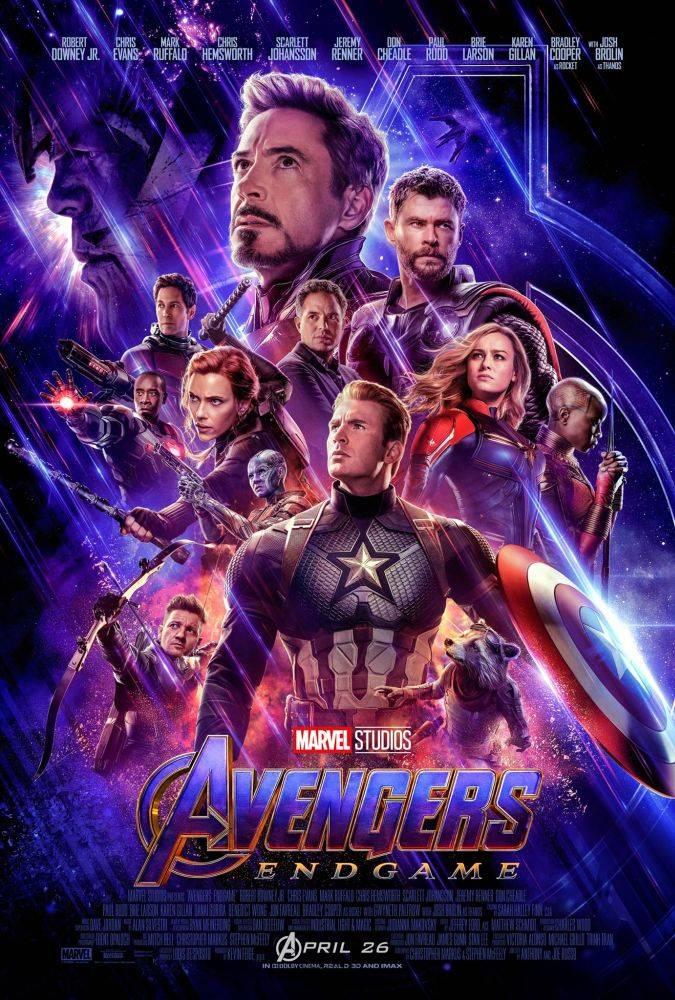 avengers endgame poster oficial captain marvel