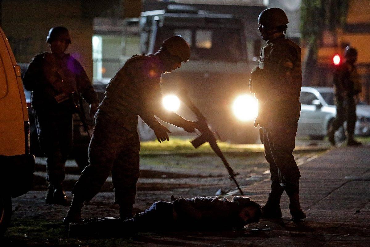 chile protesta militares
