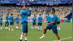Con Cristiano motivado, Real Madrid entrenó en Kiev de cara a final de Champions ante Liverpool - Noticias de cristiano ronaldo cristiano ronaldo