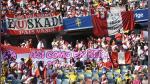 Perú vs Suecia: hinchas peruanos pusieron el color en el estadio de Gotemburgo - Noticias de selección de rumanía