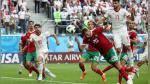 Irán gana 1-0 a Marruecos por autogol en el minuto 94 - Noticias de paraguay vs uruguay