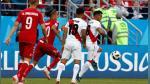 Perú cayó 1-0 ante Dinamarca en su debut en Rusia 2018 - Noticias de chile