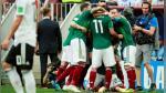 México sorprendió a Alemania y le ganó 1-0 en su debut en Rusia 2018 - Noticias de italia vs francia