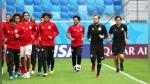 Rusia vs Egipto: Mohamed Salah corrió con el balón y entrenó para jugar en Mundial Rusia 2018 - Noticias de futbolista peruano