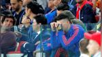 El conmovedor llanto de James Rodríguez tras la eliminación de Colombia de Rusia 2018 - Noticias de bayern munich