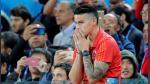 El conmovedor llanto de James Rodríguez tras la eliminación de Colombia de Rusia 2018 - Noticias de james rodriguez