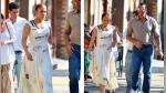 Jennifer Lopez y Alex Rodríguez son captados durante caluroso paseo en Boston - Noticias de colección