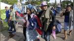 Unos 350 migrantes salvadoreños cruzan frontera de Guatemala y siguen a USA - Noticias de pobreza