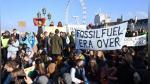 Londres: Manifestantes contra el cambio climático bloquean 5 puentes sobre el río Támesis | FOTOS - Noticias de industria