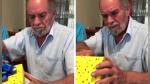 Anciano recibe un obsequio de su hija y su reacción te conmoverá - Noticias de adulto mayor