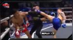 Luchador noqueó por error al árbitro y se arrodilló para pedirle perdón - Noticias de muay thai
