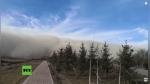 Enorme ola de arena se 'traga' una ciudad entera en cuestión de minutos - Noticias de vientos