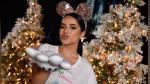 Becky G cumple uno de sus sueños de la mano de Disney y a pocos días de Navidad - Noticias de becky g