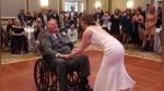 El conmovedor baile de una novia y su padre con una enfermedad terminal en el día de su boda - Noticias de temible pirata roberts