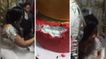 Novia devastada al descubrir que su pastel de bodas estaba hecho de poliuretano - Noticias de jard��n de los sentidos