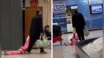 """Padre """"arrastró"""" a su hija por aeropuerto como si fuera un equipaje - Noticias de padres de familia"""