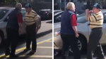 Un cruce de palabras llevó a un cómico cara a cara entre dos ancianos - Noticias de los iracundos