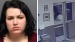 Mujer irrumpió a la fuerza en comisaría para ver al oficial que acosaba por redes sociales - Noticias de asalto