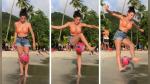La reina del freestyle y su truco con el balón que dejó a más de uno boquiabierto - Noticias de freestyle