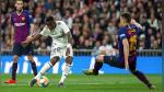 Real Madrid 0 - 1 Barcelona: culés se ubican en lo más alto de la tabla tras victoria en el Santiago Bernabéu - Noticias de karim benzema