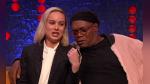 """Brie Larson y Samuel L. Jackson interpretan """"Shallow"""" como Lady Gaga y Bradley Cooper en divertido video - Noticias de samuel l. jackson"""