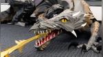 Oficinistas fanáticos de Game of Thrones crean su propio dragón con papel - Noticias de game of thrones