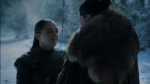 Game of Thrones: el emotivo reencuentro de Jon Snow y Arya | VIDEO - Noticias de juego de tronos