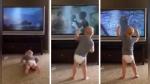 Bebé imita a la perfección rutina de entrenamiento de las películas de Rocky Balboa - Noticias de ohio